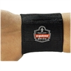 "OccuNomix ProFlex 400 Universal Wrist Wrap - Hook & Loop Closure, Contoured - 7.3"" x 4.5"" - Black"