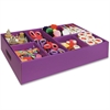 "Classroom Keepers Activity Tray - 4.3"" Height x 21.3"" Width x 12.5"" Depth - Recycled - Purple - 1Each"