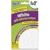 Pacon Reusable Self-Adhesive Letters - Uppercase Letters, Punctuation Marks, Number - Self-adhesive - Reusable, Durable, Removable, Acid-free, Tear Resistant, Repositionable, Fade Resistant - White -
