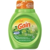 Gain 25 oz Laundry Detergent - Liquid Solution - 0.20 gal (25 fl oz) - Original Scent - 6 / Carton - Green