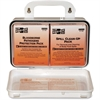 "Pac-Kit Safety Eq. Bloodborne Pathogens Kit - 27 x Piece(s) - 4.5"" Height x 7.5"" Width x 2.8"" Depth - Plastic Case - 1 Kit"