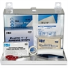 "Pac-Kit Safety Eq. 25-person First Aid Kit - 159 x Piece(s) For 25 x Individual(s) - 7"" Height x 9.8"" Width x 2.5"" Depth - Steel Case - 1 Kit"