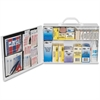 """Pac-Kit Safety Eq. 75-person First Aid Kit - 443 x Piece(s) For 75 x Individual(s) - 11"""" Height x 15.5"""" Width x 4.8"""" Depth - Steel Case - 1 / Kit"""