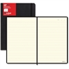 Rediform L5 Ruled Notebooks - Printed - Sewn - Black Cover - 1 / Each