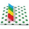 Redi-Tag Designer Flag Desk Dispenser - Holds 140 Flags - Assorted