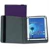 "Samsill Carrying Case (Folio) for 10"" Tablet - Purple - Polyvinyl Chloride (PVC)"