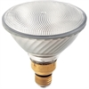 Satco PAR38 Halogen 60-watt Bulb - 60 W - 120 V AC - 2000 cd - PAR38 Size - Clear - White Light Color - E26SK Base - 1500 Hour - 4940.3°F (2726.8°C) Color Temperature - Energy Saver, Dimmable