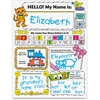 Scholastic Personal Poster Set: My Name Education Printed Book by Liza Charlesworth - English - Published on: 2013 June 1 - Book