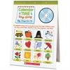 Scholastic Pre K-1 Calendar Sing-A-Long Set Education Printed Book - CD-ROM, Book