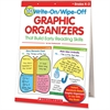Scholastic 10 Write-On/Wipe-Off Graphic Organizers That Build Early Reading Skills (Flip Chart) Education Printed Book - Book