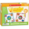 Scholastic Puzzle - Skill Learning: Letter Matching, Picture Matching, Letter Sound - 10 Pieces