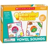 Scholastic Puzzle - Skill Learning: Letter Matching, Picture Matching, Vowels - 10 Pieces