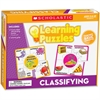 Scholastic Jigsaw Puzzle - Theme/Subject: Learning - Skill Learning: Vocabulary, Animal Classification, Object, Word, Picture Matching - 10 Pieces