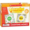 Scholastic Puzzle - Skill Learning: Money, Counting, Addition, Picture Matching - 10 Pieces