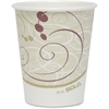 Solo Poly Lined Hot Paper Cups - 10 oz - 50 / Pack - Beige - Paper, Polyethylene - Hot Drink, Coffee, Tea, Cocoa
