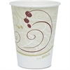 Solo Single-sided Poly Hot Cups - 12 fl oz - 50 / Pack - Beige - Poly - Hot Drink, Coffee, Tea