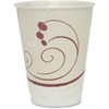 Solo Thin-wall Foam Cups - 12 fl oz - 300 / Carton - White - Foam - Hot Drink, Cold Drink, Breakroom