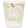 Solo Single-sided Hot Beverage Cups - 5 fl oz - 100 / Pack - Beige - Paper, Polyethylene - Cold Drink, Water, Hot Drink, Coffee, Tea