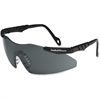 Smith & Wesson Magnum 3G Safety Glasses - Standard Size - Fog, Impact, Ultraviolet Protection - Polycarbonate Lens - White, Metallic Gray - 1 Each