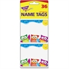 """Trend Owl-Stars Collection Terrific Labels - 3"""" Width x 2.50"""" Length - Rectangle - 1296 / Pack"""