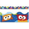 "Trend Owl-Stars Collection Terrific Trimmers - Durable, Reusable - 2.25"" Width x 468"" Length - Assorted - 1 Pack"