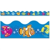"Trend Sea Buddies Collection Terrific Trimmers - Rectangle - Durable, Reusable - 2.25"" Width x 468"" Length - Assorted - 1 Pack"
