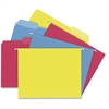 "TOPS Hanging File Folders Kit - Letter - 8 1/2"" x 11"" Sheet Size - 3/4"" Expansion - 1/3 Tab Cut - 11 pt. Folder Thickness - Stock - Assorted - 24 / Box"