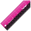 """Stainless Steel Dual Color Easy Read Ruler - 12"""" Length - 1/4, 1/8, 1/16 Graduations - Imperial, Metric Measuring System - Stainless Steel - 1 Each - Stainless Steel"""