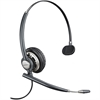 Plantronics EncorePro HW710 Wired Mono Headset - Mono - Black - Quick Disconnect - Wired - Over-the-head - Monaural - Circumaural - Noise Cancelling Microphone - Yes