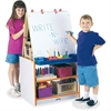 Rainbow Accents 2 Station Art Center - Gray Surface - Floor Standing - Assembly Required - 1 Each