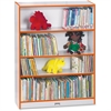 "Rainbow Accents Book Rack - 48"" Height x 36.5"" Width x 11.5"" Depth - Orange - 1Each"