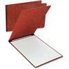 "Oxford Oversized Pressboard Report Cover - Tabloid, Letter - 11"" x 17"", 8 1/2"" x 11"" Sheet Size - 2 x Prong Fastener(s) - 3"" Fastener Capacity for Folder - Pressboard - Red - 1 / Each"
