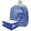 "Webster Commercial Can Liners - 40"" Width x 46"" Length x 9 mil (229 Micron) Thickness - Clear - Plastic - 100/Carton - Can"
