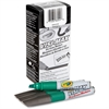 Crayola Visi-Max Dry Erase Markers - Bold Point Type - Chisel Point Style - Green - 1 Dozen