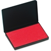 "CLI Stamp Pad - 1 Each - 4.7"" Width x 3"" Length - Felt Pad - Red Ink"