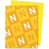 """Astrobrights Colored Paper - Letter - 8.50"""" x 11"""" - 60 lb Basis Weight - Recycled - Smooth - 500 / Ream - Sun Yellow"""