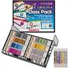 Zebra Pen Cadoozles 320 Pc Class Pack Mech. Pencils - 0.9 mm Lead Diameter - Refillable - Assorted Barrel - 320 / Box