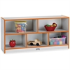 "Rainbow Accents Toddler Single Storage - 24.5"" Height x 48"" Width x 15"" Depth - Orange - Rubber - 1Each"