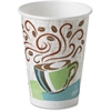 PerfecTouch Insulated Hot Cups - 12 oz - 1000 / Carton - Coffee Haze - Paper - Hot Drink