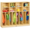 "Jonti-Craft Large Neat-n-Trim Locker - 8 Compartment(s) - 50.5"" Height x 60"" Width x 15"" Depth - Baltic - Acrylic - 1Each"