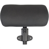 Lorell 86000 Series Executive Chair Adjustable Headrest - Black - 1 Each