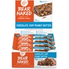 Keebler Bear Naked Real Choc Chip/PB Energy Bars - Individually Wrapped - Chocolate Chip - 8 / Box