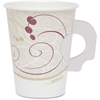 Poly Lined Hot Paper Cups - 8 fl oz - 1000 / Carton - Beige - Paper - Hot Drink, Coffee, Tea, Cocoa