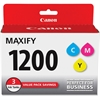 Canon PGI-1200 CMY Ink Cartridge - Cyan, Magenta, Yellow - Inkjet - 700 Page (Per Cartridge) - 3 / Pack