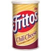 Frito Chili Cheese Corn Chips - Chili Cheese, Corn - Canister - 5.50 oz - 12 / Carton