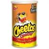 Cheetos Cheetos Flaming Hot Crunchy Snack - Cheese - Canister - 4.25 oz - 12 / Carton