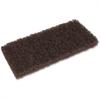 Genuine Joe Brown Cleaning Pads - 20/Carton - Brown