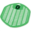 Genuine Joe Orchard Scent Urinal Screen - Odor Neutralizer, Ozone-safe - Orchard Fragrance - 12 / Box - Green