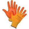 Honeywell Tuff-Glo Hi-Viz Safety Gloves - X-Large Size - Nylon Liner, Nitrile Palm, Nitrile Fingertip - Orange - Cut Resistant, Abrasion Resistant, Puncture Resistant, Durable, Lightweight - For Const