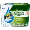 Paper Towel - White - Durable, Residue-free - For Multipurpose - 6 / Carton